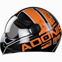 Adonis Majestic Glossy Black With Orange
