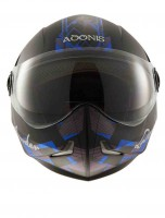 Adonis Lost Border Glossy Black With Blue