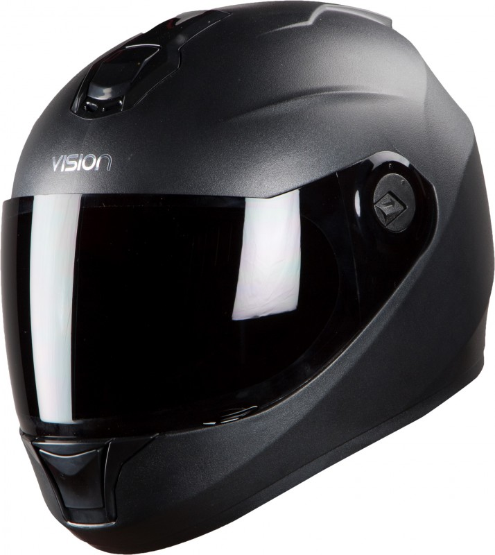 Steelbird HI-GN Men Vision Painted Glossy Black