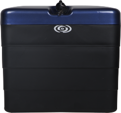 Steelbird Pannier Box SB-510 Honda Blue