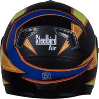 Steelbird Air FAB GLOSSY BLACK