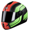 SB-39 Rox Blast Glossy Black With Green