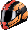 SB-39 Rox Blast Glossy Black With Orange
