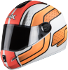 SB-39 Rox Blast Glossy White With Orange