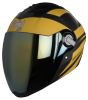 SBA-2 Streak Glossy Black with Yellow