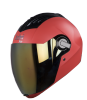 SBA-2 DASHING RED GOLDEN VISOR