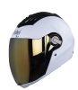 SBA-2 DASHING WHITE GOLDEN VISOR