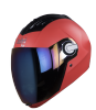 SBA-2 DASHING RED RAINBOW VISOR