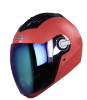 SBA-2 DASHING RED I.BLUE VISOR
