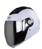SBA-2 DASHING WHITE SILVER VISOR