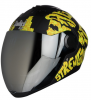 SBA-2 Strength Matt Black with Yellow