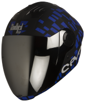 SBA-2 Seven Matt Black With Blue