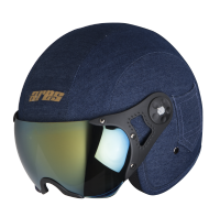 Ares A-5 Admiral With Gold Visor