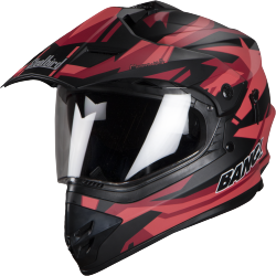SB-42 Bang Moonwalk Glossy Black With Red Plus P-Cap