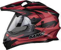 SB-42 Bang Moonwalk Mat Black With Red Plus P-Cap