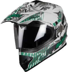SB-42 Bang Blaze Mat White With Green Plus P-Cap