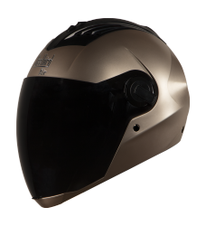 SBA-2 Glossy Rose Gold( Fitted With Clear Visor Extra Smoke Visor Free)