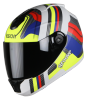 SBH-11 Vision Groove Glossy White With Neon Yellow
