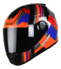SBH-11 Vision Groove Glossy Black With Orange