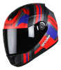 SBH-11 Vision Groove Glossy Black With Red