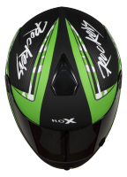 SB-39 Rox Rockers Glossy Black With Green