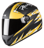 SB-39 Rox Rockers Mat Black With Yellow