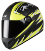 SB-39 Rox Rockers Mat Black With Flu Yellow