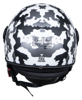SBH-10 Bunker Camo Mat Black With White