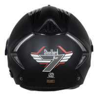 SBA-2  7 Wings Mat Black With Night Vision Visor