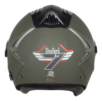 SBA-2 7 Wings Mat Battle Green With Night Vision Visor