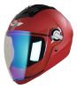 SBA-2 7 Wings Mat  Sports Red With Night Vision Visor