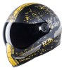 SBH-1 Adonis R2K Mat Black With Yellow