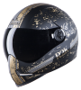 SBH-1 Adonis R2K Mat Black With Gold