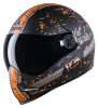 SBH-1 Adonis R2K Glossy Black With Orange