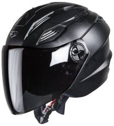 SBA-6 Fuze Dashing Black Plain Visor