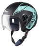 SBH-16 Pulse Beat Glossy Black With Light Blue