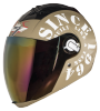 SBA-2 Tank Mat Desert Storm With White Gold Visor