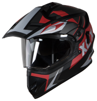 SB-42 XCX Glossy Black With Red