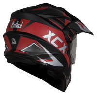 SB-42 XCX Mat Black With Red
