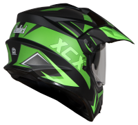 SB-42 XCX Mat Black With Green