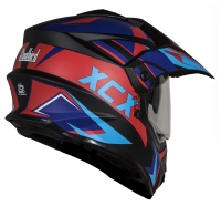 SB-42 XCX Glossy Black With Light Blue