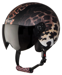 SBH-16 Frost Kitty Mat Black ( Fitted With Clear Visor Extra Smoke Visor Free)