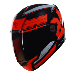 SBA-1 3D Design Glossy Red With Sliver