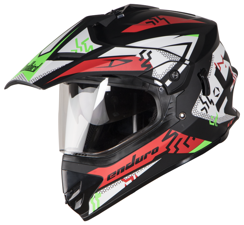 SB-42 Bang Enduro Mat Black With Red