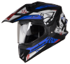 SB-42 Bang Enduro Mat Black With Blue