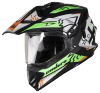 SB-42 Bang Enduro Mat Black With Fluo Green