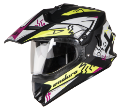 SB-42 Bang Enduro Mat Black With Fluo Yellow