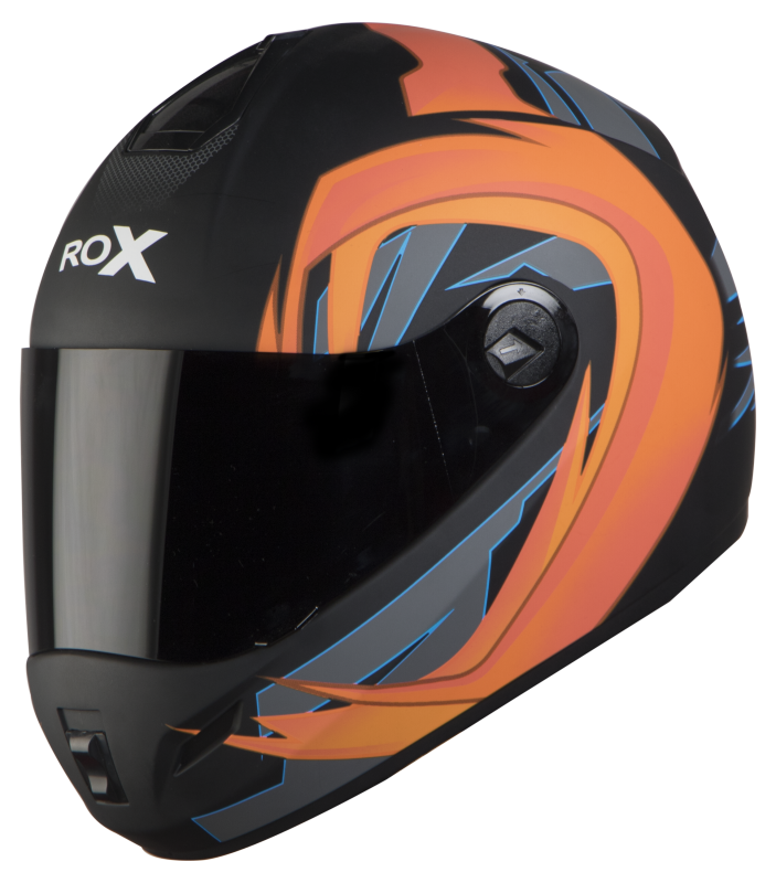 SB-39 ROX FLASH MAT BLACK WITH ORANGE