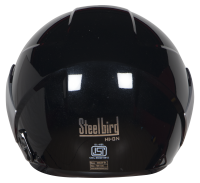 SBH-5 Vic Two Tone Glossy Black With SIlver
