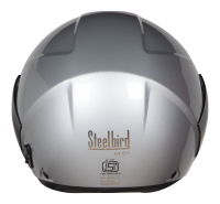 SBH-5 Vic Two Tone Glossy Silver With Black